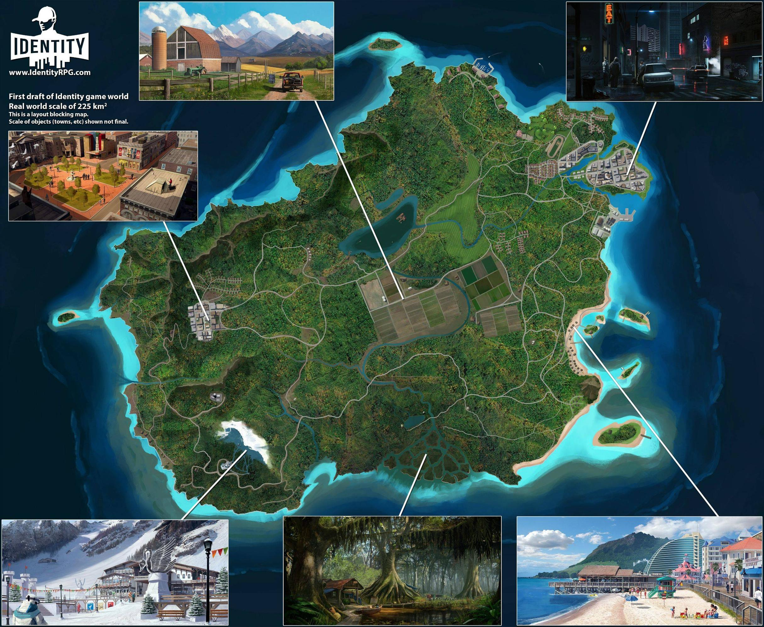 Image result for identity rpg map
