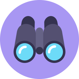binoculars icon vector - photo #38