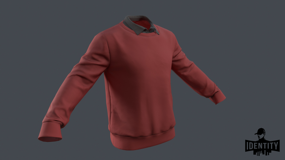 Umut Mens Fleece Crew Neck 2.png