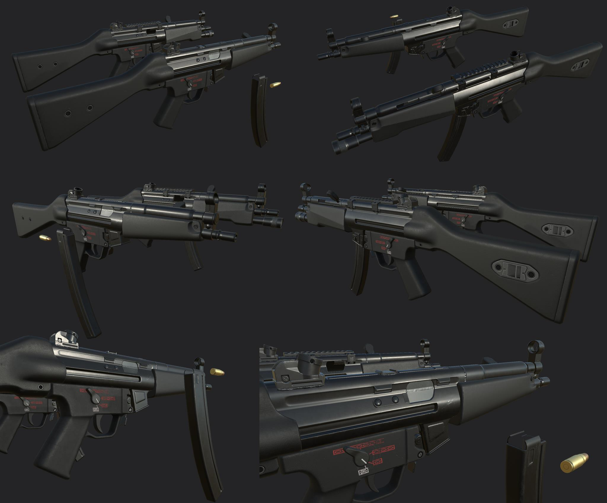MP5 Sub Machinegun