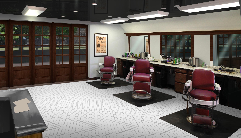 Ash Hill Barber Concept