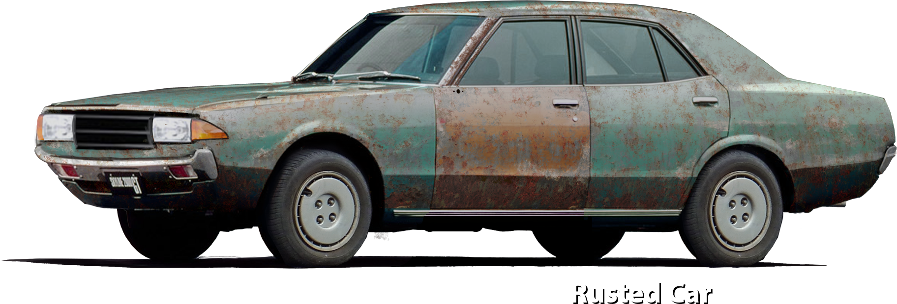 Rusted Car Concept
