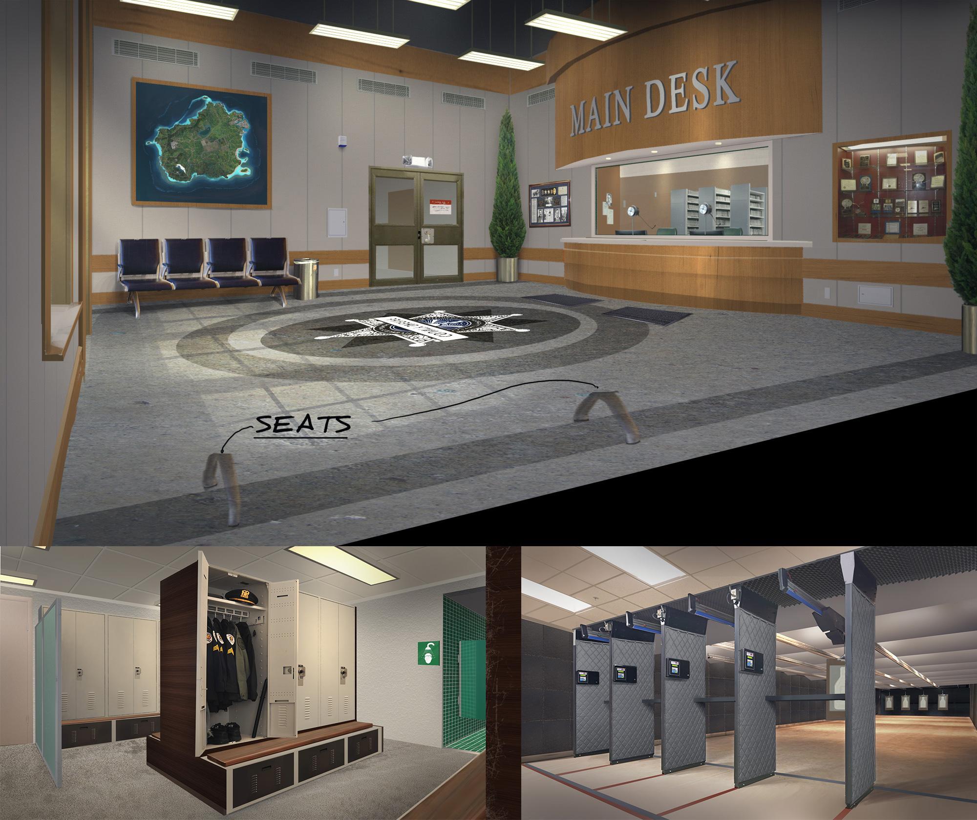 Ash Hill Police HQ Concept